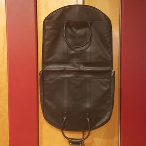 Coach Leather Fold-over Garment Bag